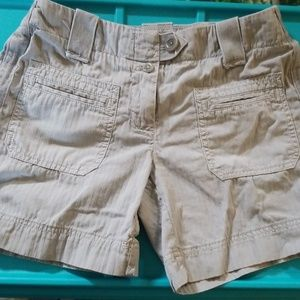 J Crew classic twill chino city fit shorts